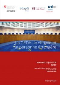 La CEDH, le citoyen et la personne étrangère