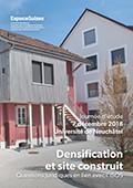 Densification et site construit - Verdichtung und Ortsbildschutz
