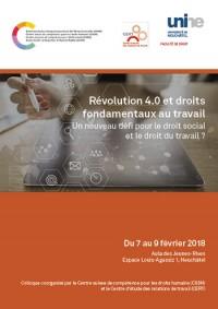Révolution 4.0 et droits fondamentaux au travail