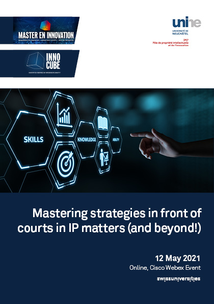 Mastering strategies in front of courts in IP matters (and beyond!)