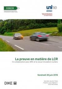 La preuve en matière de LCR