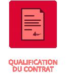 Qualification du contrat