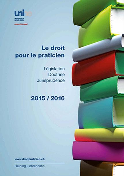 Le droit pour le praticien 2015-2016