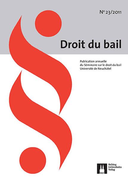 Revue Droit du bail 23/2011