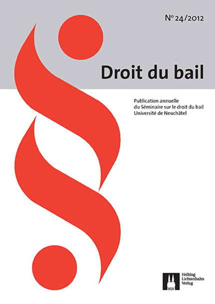 Revue Droit du bail 24/2012