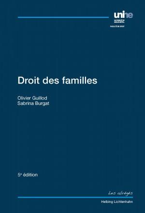 Droit des familles - 5e édition