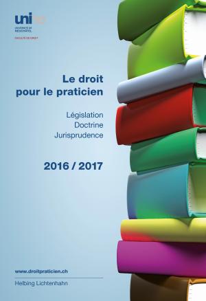 Le droit pour le praticien 2016-2017