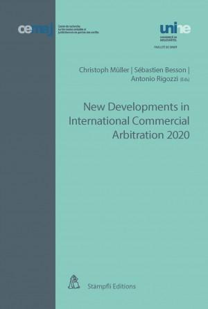 New Developments in International Commercial Arbitration 2020