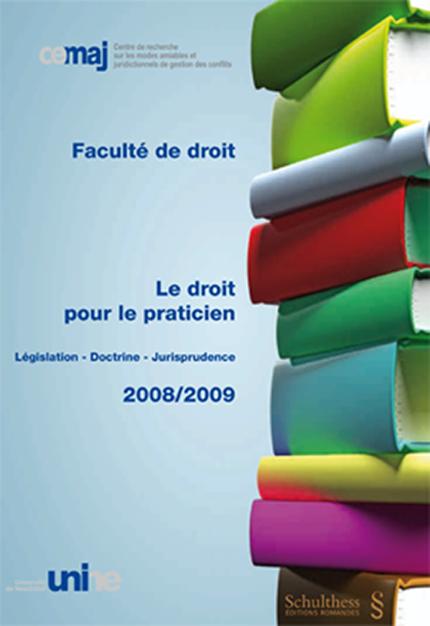 Le droit pour le praticien 2008/2009