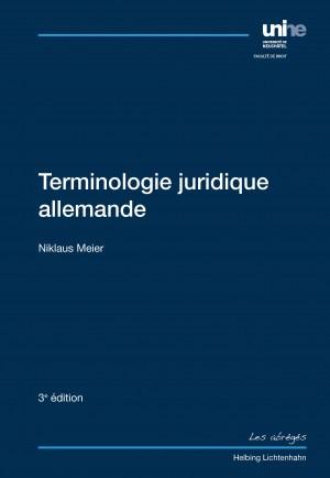 Terminologie juridique allemande - 3e édition